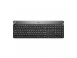 Tastatura Wireless Logitech Craft, USB, Black