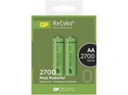 Acumulator AA (R6) NiMH Recyko+ 2700mAh 2 buc/blister GP; Cod EAN: 4891199077746 - pret pe bucata