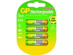 Acumulator AAA (R3) NiMH Recyko+ 1000mAh 4 buc/blister GP - pret pe bucata