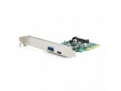 Adapor Gembird PCI-Express PEX-U31-01, 1x USB 3.1 - 1x USB-C