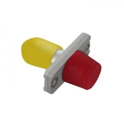 Adapter optic hibrid Qoltec 54157, FC/UPC-ST/UPC
