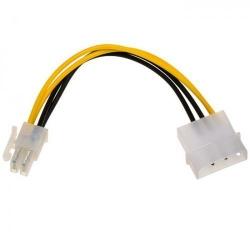 Adaptor Akyga AK-CA-12, Molex - P4 (4-pin), 0.15m