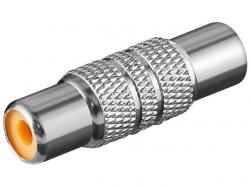 Adaptor audio, metal, RCA mama la RCA mama AA184-BU