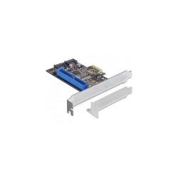Adaptor Delock PCI Express Card - 2x internal SATA 6 Gb/s + 1 x internal IDE