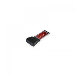 Adaptor ExpressCard Vantec ALVAUC302CB, 2 x USB 3.0