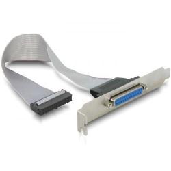 Adaptor Gembird CC-DB25-RECEPTACLE, PCI-Paralel,0.22m