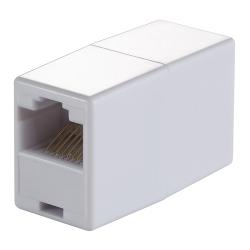 Adaptor LogiLink MP0031, RJ45-RJ45, White