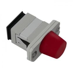 Adaptor optic hibrid Qoltec 54152, SC/UPC-FC/UPC