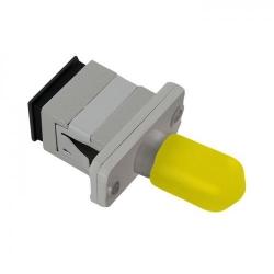 Adaptor optic hibrid Qoltec 54155, SC/UPC-ST/UPC