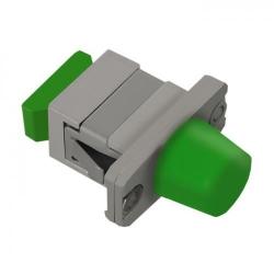 Adaptor optic hibrid Qoltec 54158, FC/APC-SC/APC
