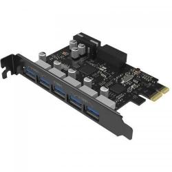 Adaptor Orico PCI-Express PVU3-5O2I, 5x USB 3.0