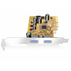 Adaptor PCI-E Raidsonic IcyBox, 2x USB 3.1