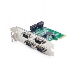 Adaptor PCI-Express Riser Gembird SPC-2, 4x RS-232