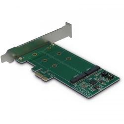 Adaptor PCIe Inter-Tech Argus KCSSD4 1x PCI-E Male - 2x M.2 PCI-E SSD