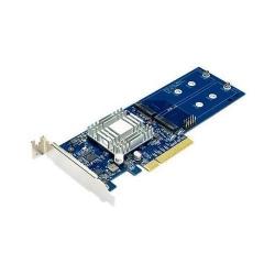 Adaptor PCIe NAS Synology Dual M.2 SSD PCIe Gen2 x8