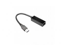 Adaptor retea Gembird NIC-U3-02, RJ-45 - USB 3.0, Black