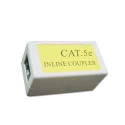 Adaptor retea Gembird, RJ45 - RJ45, Cat.5E, White