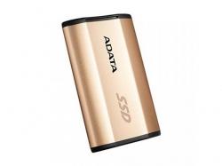 SSD portabil ADATA SE730H 256GB, USB 3.1 tip C, Gold