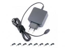 Alimentator SMPS AC/DC pentru Ultrabook 19-19,5V 2370mA max. 45W cu 8 mufe PSUP-AC-19-19,5/45W-BL