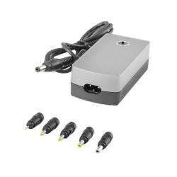 Alimentator Universal Qoltec 7335.40W, pentru Laptop, Ultrabook sau Tableta, 40W, 5 mufe diferite
