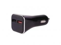 Alimentator USB QC3, 12V/24V la 2 porturi USB QC3.0-2.0 PSUP-DC-V0213-BL