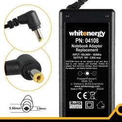 Alimentator Whitenergy 04108 19V/3.95A, 75W, conector 5.5x2.5mm, pentru HP/Toshiba