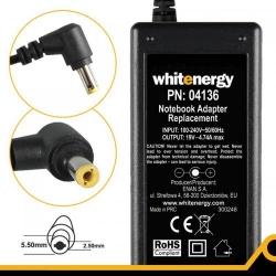 Alimentator Whitenergy 04136 19V/4.74A, 90W, conector 5.5x2.5mm