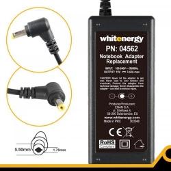 Alimentator Whitenergy 04562 19V/3.42A, 65W, conector 5.5x1.7mm, pentru Acer