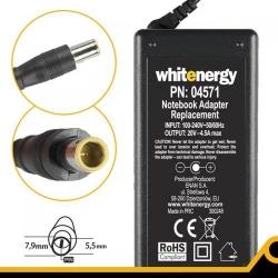 Alimentator Whitenergy 04571 20V/4.5A 90W, conector 7.9x5.5mm + pin pentru IBM