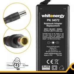 Alimentator Whitenergy 04572 20V/3.25A, 65W, conector 7.9x5.5mm + pin, pentru IBM