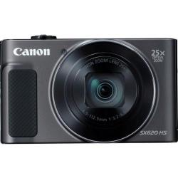 Aparat foto compact Canon PowerShot SX620 HS, 20.2MP, Black