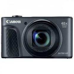Aparat foto compact Canon PowerShot SX730 HS, 20.3MP, Black + Husa + Trepied