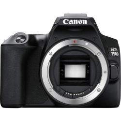 Aparat foto DSLR Canon EOS 250D, 24.1MP, Black + Obiectiv 18-55 IS STM