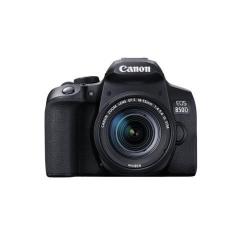 Aparat foto DSLR Canon EOS 850D Kit, 24.1MP, Black + Obiectiv 18-55mm f/3.5-5.6 IS STM