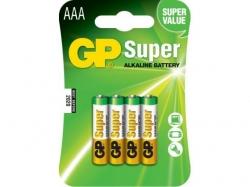 Baterie AAA (R3) alcalina, GP Batteries