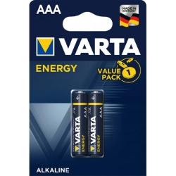 Baterie alcalina Micro (AAA,R03) 1,5V 4103 Varta Energy Ambalare: blister 2 buc.