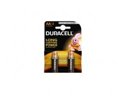 Baterie alcalina Mignon (AA R6) 1.5V MN1500 Duracell Basic BAT-LR6-BC-BL2-DUR
