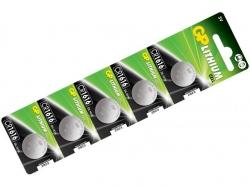 Baterie buton litiu 3V 16X1.6 5buc/blister GP; Cod EAN: 4891199001116 - pret pe bucata
