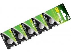 Baterie buton litiu 3V 16X2 5buc/blister GP; Cod EAN: 4891199063886 - pret pe bucata