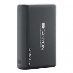 Baterie porabila Canyon CNS-CPBP10B, 10000mAh, 2x USB, Black