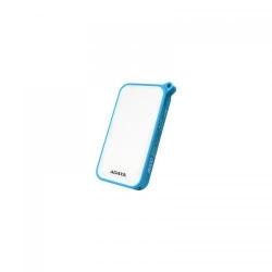 Baterie portabila A-DATA D8000L, 8000mAh, 2x USB, White-Blue