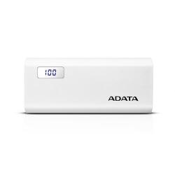 Baterie portabila A-Data P12500D, 12500mAh, 1x USB, White