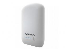Baterie portabila ADATA P10050, 10050mAh, 2x USB, White