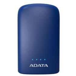 Baterie portabila ADATA P10050V, 10050mAh, 2 x USB, Blue