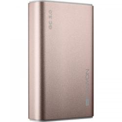 Baterie portabila Canyon CND-TPBQC10RG, 10000mAh, 2x USB, Rose Gold