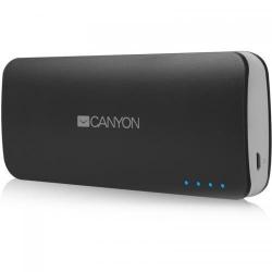 Baterie portabila Canyon CNE-CPB100DG, 10000 mAh, 2x USB, Dark Grey