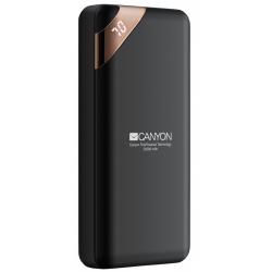 Baterie portabila Canyon Compact, 20000mAh, 2x USB, Black