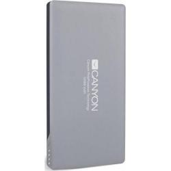 Baterie Portabila Canyon TPBP10DG, 10000mAh, 1x USB, 1x Lightning, 1x microUSB, Dark Gray