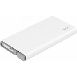 Baterie portabila Hame QC1, 10000mAh, 2x USB, White - Grey
