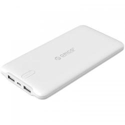 Baterie portabila Orico LD200 20000mAh, 2x USB, White